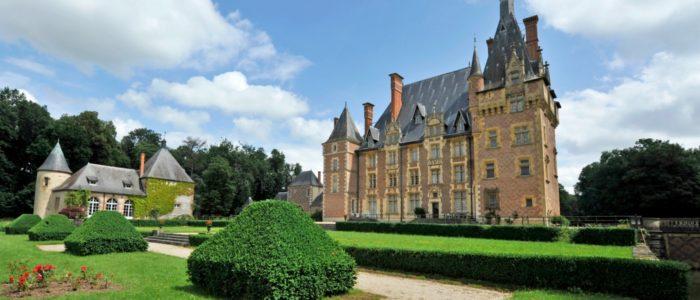 Auvergne-Allier-chateau d'Avrilly-Trévol