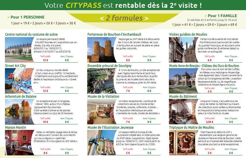 Auvergne-Allier-citypass-moulins-depliant