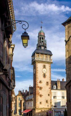 Le Jacquemart, Tour Horloge de Moulins © Luc Olivier / CDT 03