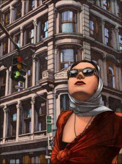 Mise en couleur numérique de l'affiche - Miles Hyman