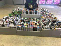 Bombes de peinture - Street art city - MC