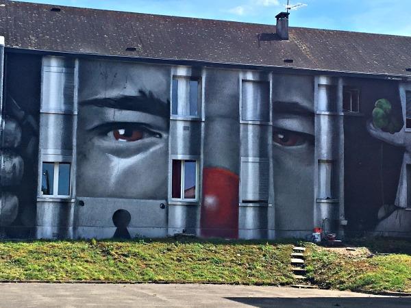 Oeuvre de Ojidjo - Street Art City- MC