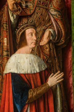 Auvergne-Allier-Moulins-Triptyque-Pierre II de Bourbon