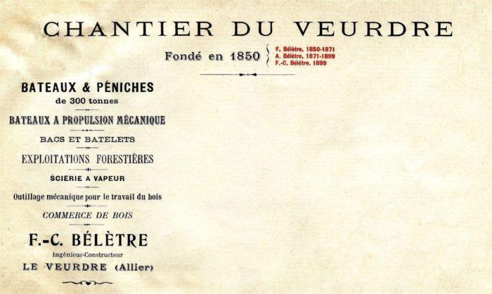 1911. En-tête Bélètre copie