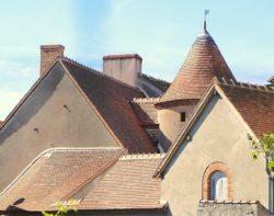 Maison de la Batellerie - Les toits