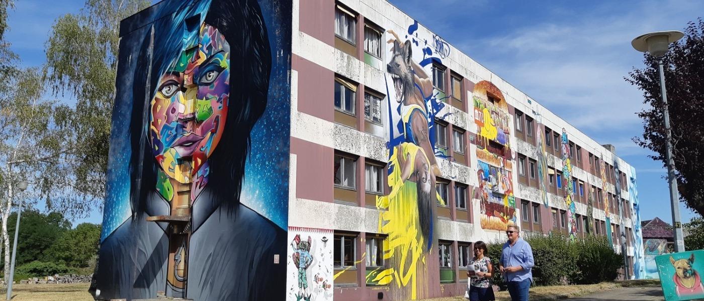 Street art city couverture
